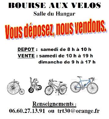 Bourse aux vélos @ Hangar à Aubord | Aubord | Occitanie | France