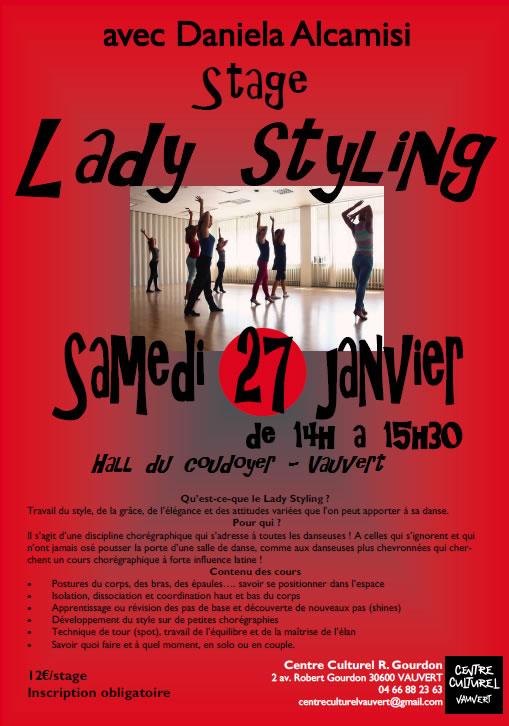 Stage Lady Styling @ Hall du Coudoyer à Vauvert | Vauvert | Occitanie | France