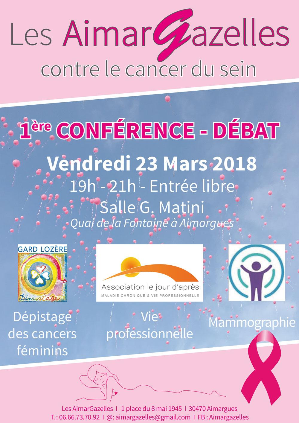 Conférence-débat des Aimargazelles @ Salle G. Martini à Aimargues | Aimargues | Occitanie | France