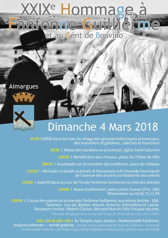 Hommage à Fanfonne Guillierme @ Centre ville d'Aimargues | Aimargues | Occitanie | France
