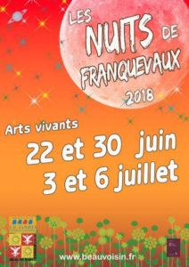 Franquevaux : Les nuits de Franquevaux  Arts Vivants @ Franquevaux