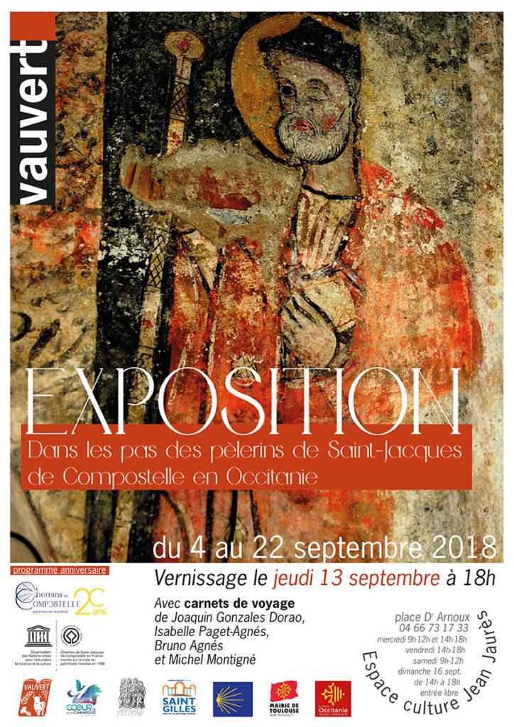 Exposition Chemins de Compostelle @ Espace culture Jean Jaurès